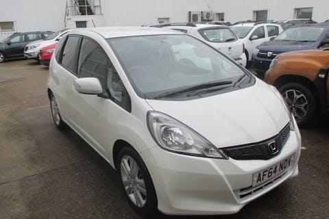 White Honda Jazz 1.3 I-vtec Es Plus 2014