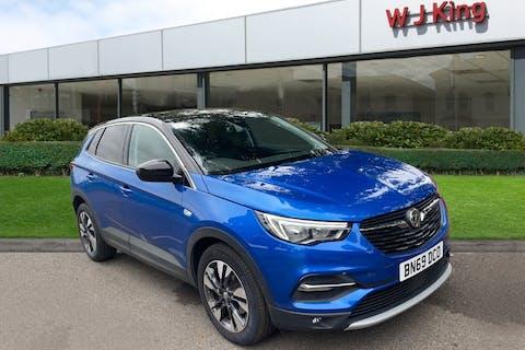 Blue Vauxhall Grandland X 1.2 SRi Nav 2019