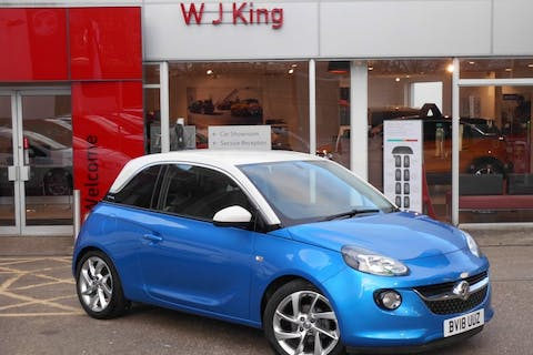 Blue Vauxhall Adam 1.4 Slam 2018