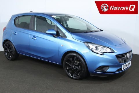 Blue Vauxhall Corsa 1.4 Griffin 2019