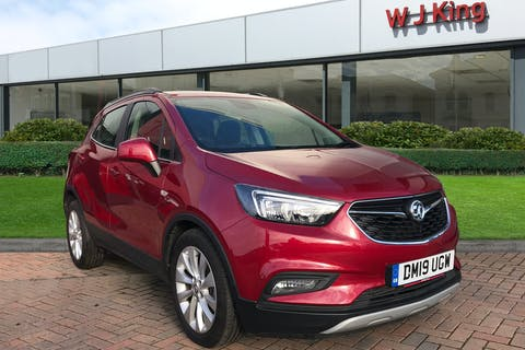 Red Vauxhall Mokka X 1.4 Griffin 2019