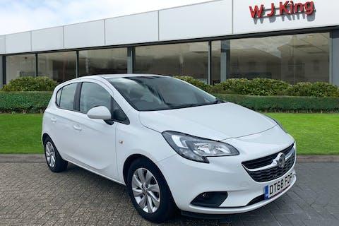 White Vauxhall Corsa 1.4 Design 2018
