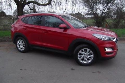 Red Hyundai Tucson 1.6 Gdi SE Nav 2019