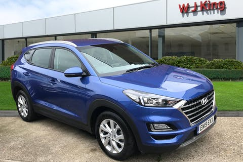 Blue Hyundai New Tucson 1.6 T-GDI SE NAV 2019