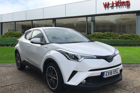 White Toyota C-HR 1.8 Excel 2018