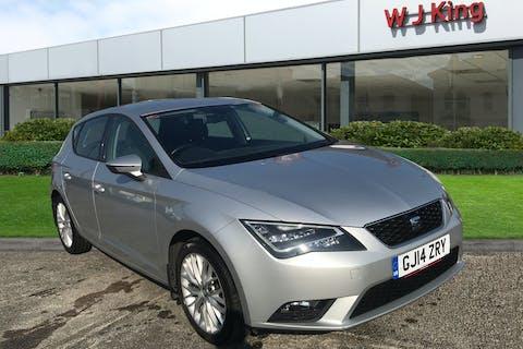Silver SEAT Leon 1.6 TDI SE Technology 2014
