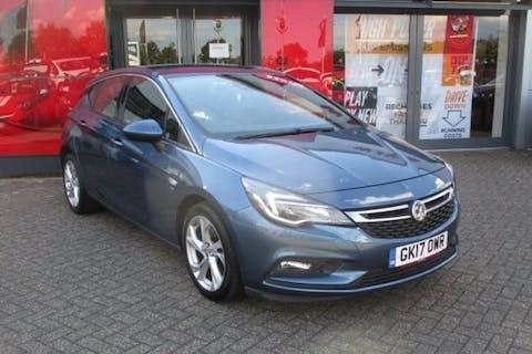 Blue Vauxhall Astra 1.6 SRi CDTi 2017