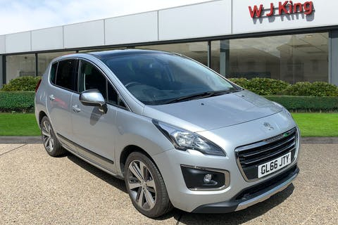 Peugeot 3008 1.6 Blue HDi S/S Allure 2017