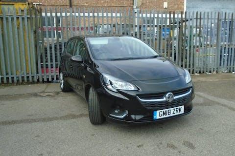 Black Vauxhall Corsa 1.4 SRi Nav 2018