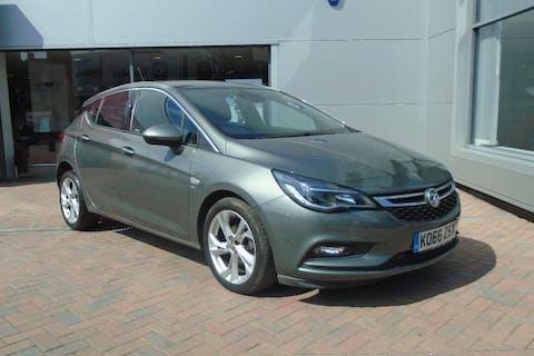 Grey Vauxhall Astra 1.4 SRi 2017