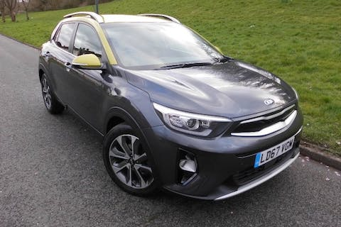 Grey Kia Stonic 1.6 CRDi First Edition 2017