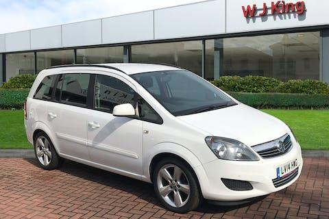 Vauxhall Zafira 1.8 Exclusiv 2014