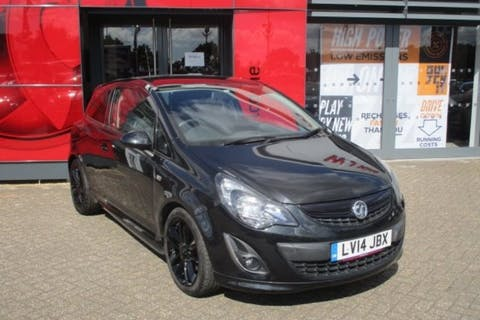 Vauxhall Corsa 1.4 Black Edition 2014