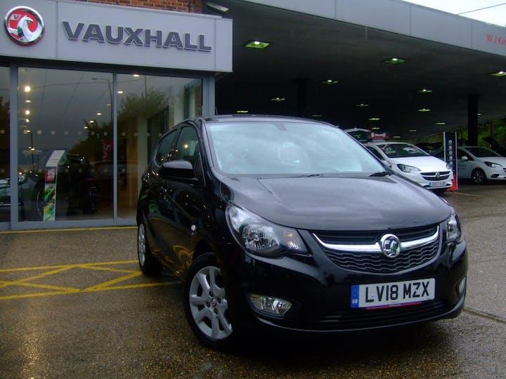 Black Vauxhall Viva 1.0 SE Ac 2018