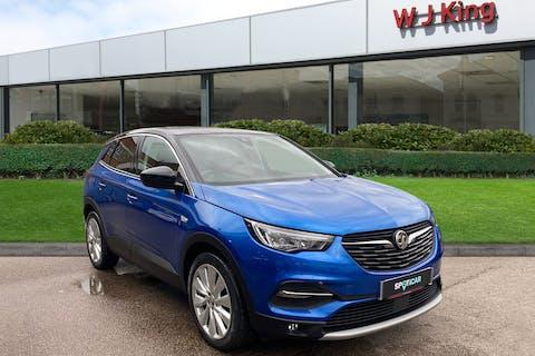 Blue Vauxhall Grandland X 1.5 Elite Nav 2020