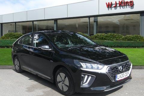 Black Hyundai IONIQ 1.6 PREMIUM 2020