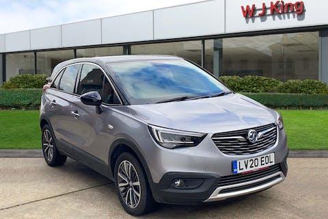 Grey Vauxhall Crossland X 1.2 Elite Nav 2020