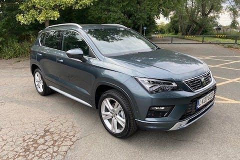 Grey SEAT Ateca 1.5 TSI Evo Fr DSG 2020