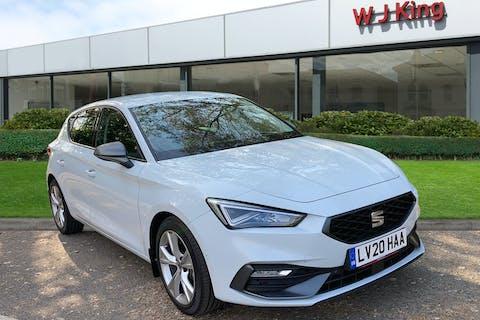 White SEAT Leon 1.5 TSI Evo Fr 2020