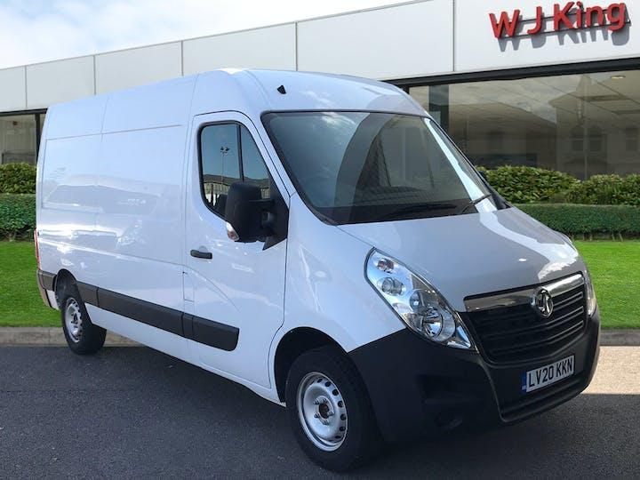 White Vauxhall Movano 2.3 L2h2 F3500 P/v 2020