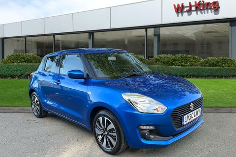 Blue Suzuki Swift 1.2 Sz-t Dualjet Shvs 2020