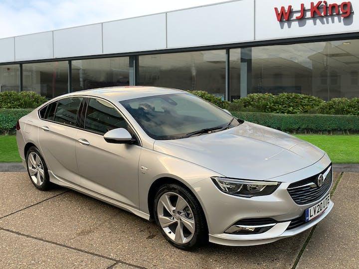Silver Vauxhall Insignia 1.5 Grand Sport SRi Vx-line Nav 2020