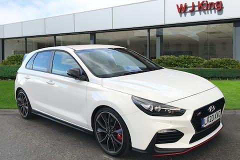White Hyundai I30 2.0 N 2020