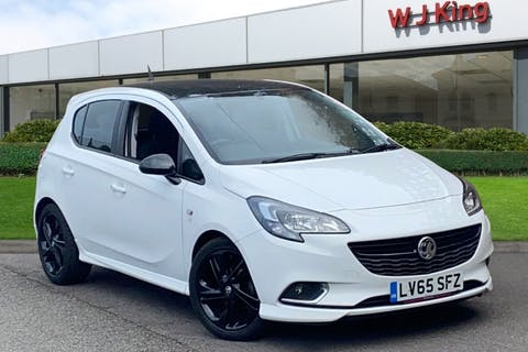White Vauxhall Corsa 1.4 Limited Edition 2015