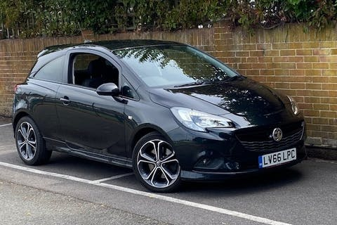 Black Vauxhall Corsa 1.4 Black Edition S/S 2016
