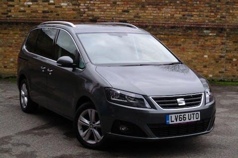 Grey SEAT Alhambra 2.0 TDI Ecomotive SE 2016