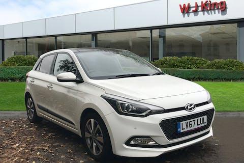 Hyundai I20 1.2 Mpi Premium SE Nav 2017