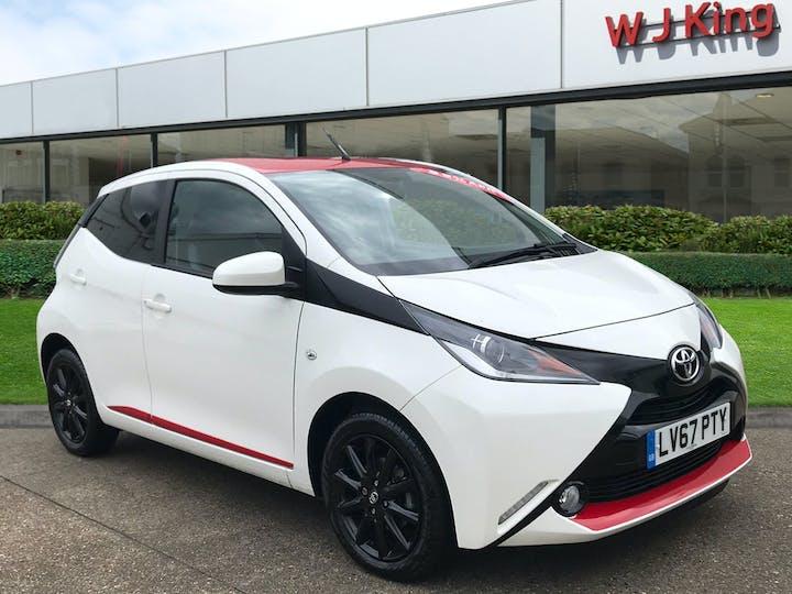 Toyota Aygo 1.0 VVT-i X-press 2017