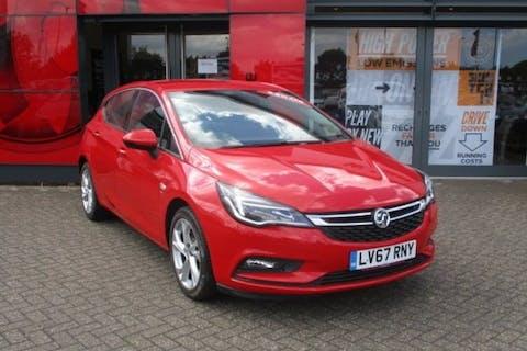 Red Vauxhall Astra 1.0 SRi Ecotec S/S 2017