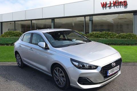 Silver Hyundai i30 1.4 FASTBACK SE NAV 2018