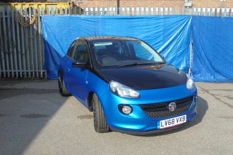 Blue Vauxhall Adam 1.2 Energised Black Jack 2019