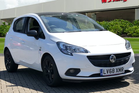 White Vauxhall Corsa 1.4 Griffin 2019