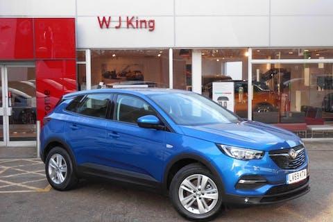 Blue Vauxhall Grandland X 1.2 SE S/S 2019