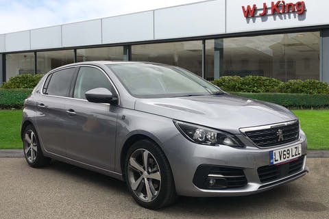 Grey Peugeot 308 1.2 Puretech S/S Tech Edition 2019
