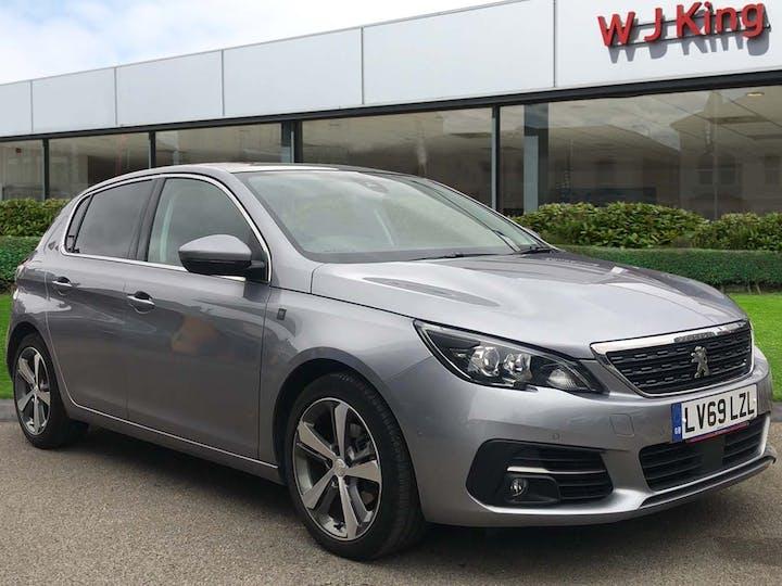 Grey Peugeot 308 1.2 Puretech S/S Tech Edition 2019