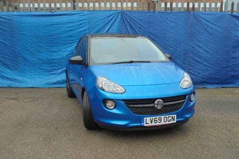 Blue Vauxhall Adam 1.2 Energised 2019
