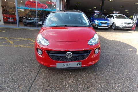 Red Vauxhall Adam 1.2 Griffin 2019