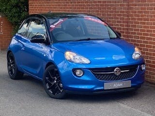 Blue Vauxhall Adam 1.2 Griffin 2019