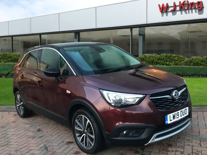Red Vauxhall Crossland X 1.2 Elite Ecotec S/S 2019