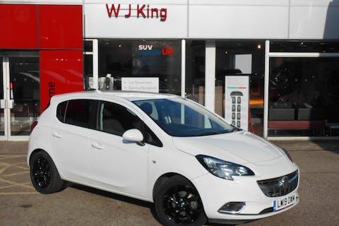 White Vauxhall Corsa 1.4 SRi Nav 2019