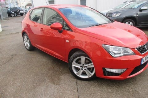Red SEAT Ibiza 1.2 TSI Fr Technology 2016