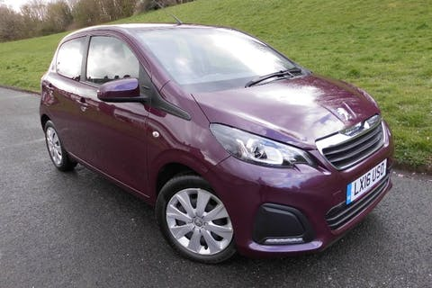 Purple Peugeot 108 1.0 Active 2016