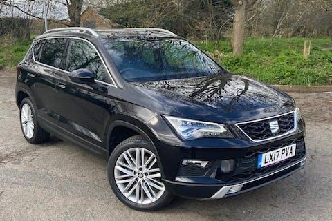 Black SEAT Ateca 1.4 Ecotsi Xcellence 2017