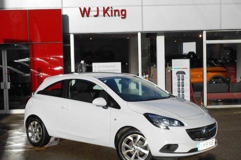 White Vauxhall Corsa 1.4 Energy 2019