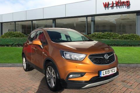 Orange Vauxhall Mokka X 1.4 Active 2019