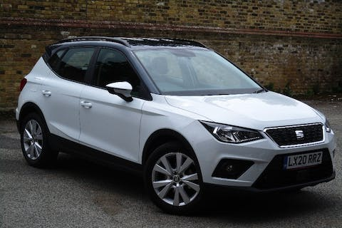 White SEAT Arona 1.0 TSI SE Technology DSG 2020